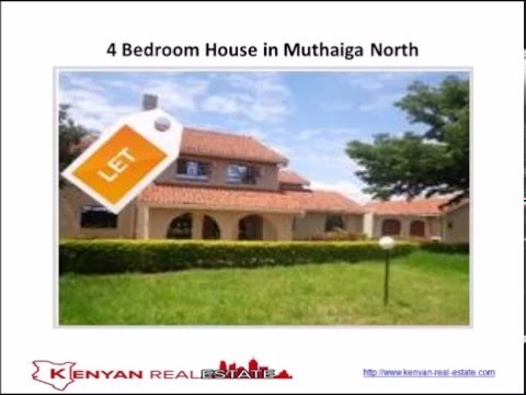 4 Bedroom House in Muthaiga North, Nairobi, Kenya