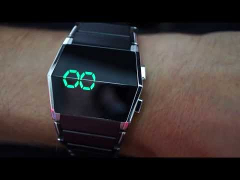 Kisai Xtal Cool LED Watch Design From Tokyoflash Japan