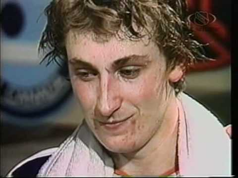 1980-NHL - Wayne Gretzky Interview