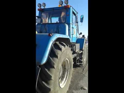 Разгон забастовки дальнобойщиков в Ачинске
