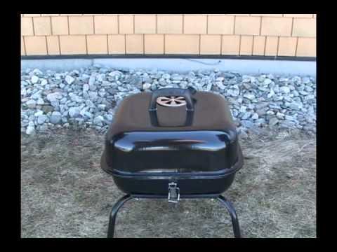 instaflam bbq avec briquettes de charbon de bois youtube. Black Bedroom Furniture Sets. Home Design Ideas
