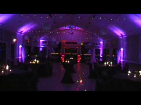 A Wedding With Custom Gobo & Uplighting Video