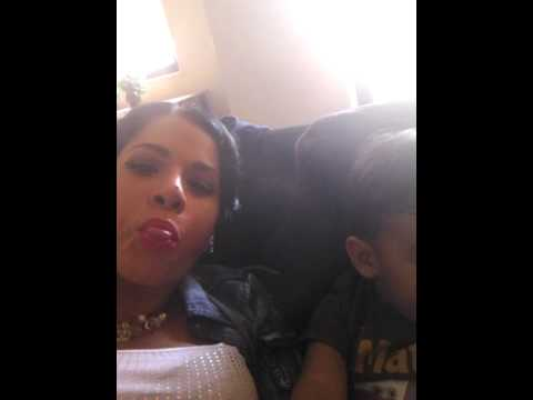 Mom And Son Being Silly video