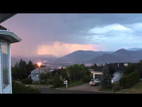 Kamloops Lightning Storm video
