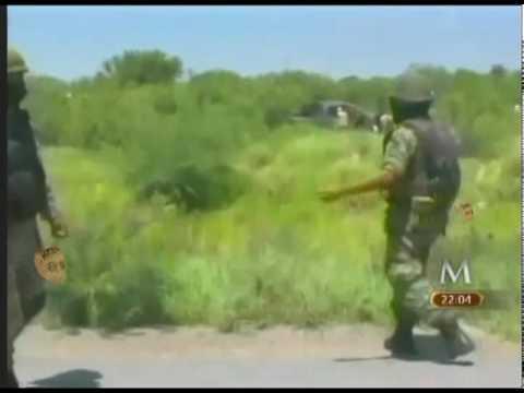 Enfrentameinto entre Ejercito y Periodistas tras balacera en Nuevo Laredo Valles de Anahuac