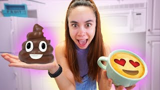 Making DIY Edible Emoji's!