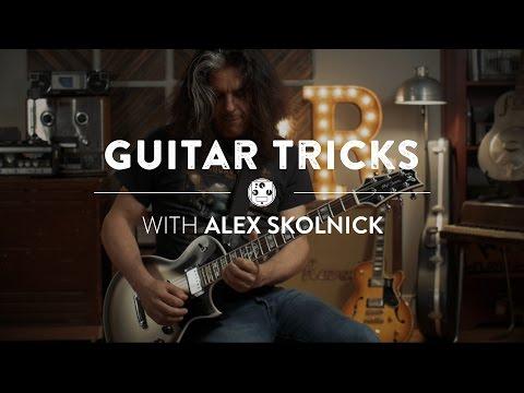 Alex Skolnick: Triads and Sweep Picking | Reverb Guitar Tricks
