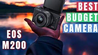 Canon EOS M200 Hands On Review!
