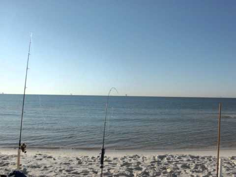Dauphin Island Oct 14-16-2011 Land Based Shark Fishing