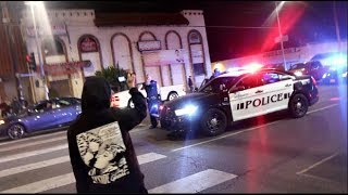 CAR MEET TURNS INTO WARZONE! Guns Pulled & Arrested