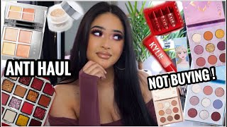 NEW MAKEUP I AM NOT BUYING! | ANTI HAUL | Jaclyn Hill Holiday Collection, Colourpop Frozen II + MORE
