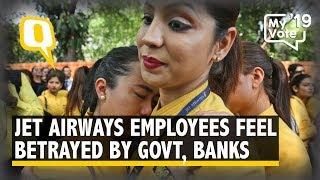 Jet Airways Employees Feel Betrayed By Banks, Govt as Uncertainty Looms   The Quint