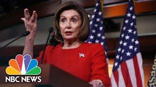 Nancy Pelosi: Impeachment Inquiry Testimony 'Corroborated Evidence Of Bribery' | NBC News