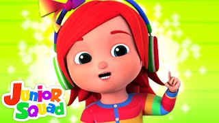 No No Song | Nursery Rhymes For Children & Babies By Junior Squad