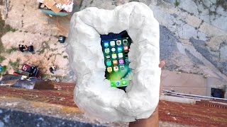 Can Floof Protect an iPhone 7 from 100 FT Drop Test? - Gizmoslip