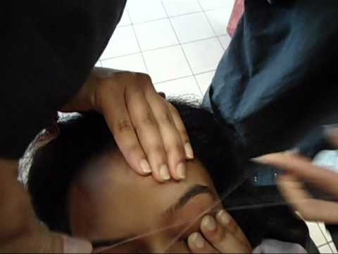Indian Eyebrow Threading