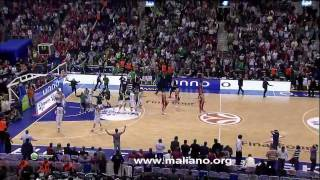 Panathinaikos-Olympiakos 2008 Final Four Last 2 Minutes
