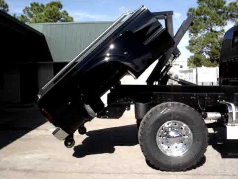 Ford F650 Kelderman Hydraulic Bed Kit - YouTube