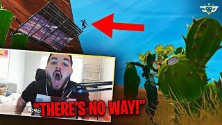 COURAGE PRETENDS TO BE A CACTUS AND WINS?! HOW IS THIS POSSIBLE?! (Fortnite: Battle Royale)