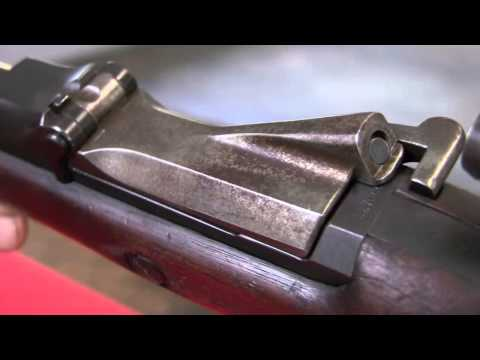 1873 Springfield 45-70 Trapdoor rifle