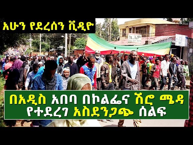 Ethiopia: A Protest Took place In kolfe And Shiromeda Addis Ababa