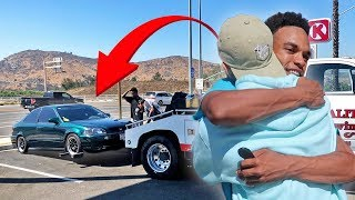 I BOUGHT MY BROTHER HIS DREAM CAR... AND IT BROKE!