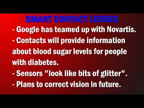 Google's Smart Contact Lenses!