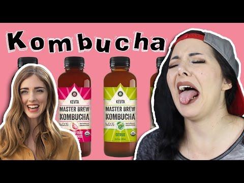 [TASTING] KOMBUCHA 🍾 THE FASHION BLOGGER DRINK