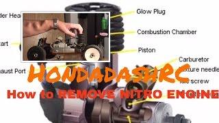 HondadashRC: How to Remove/Replace a Nitro RC Engine