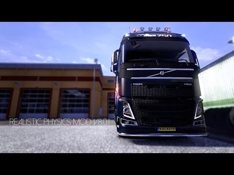 Euro Truck Simulator 2   Realistic Physics Mod v8.0.1   1.7.0+ 1.8.0+   Official Version!