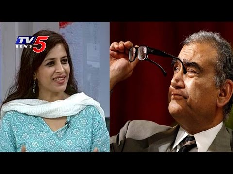 Shazia Ilmi More Beautiful Than Kiran Bedi - Markandey Katju : TV5 News
