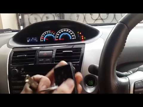 How to start toyota vios smart entry battery die