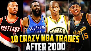 10 Crazy NBA Trades since 2000 - 2016! James Harden! Ray Allen! Is Russell Westbrook Next?