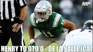 Henry To'oto'o - 2018 Highlights
