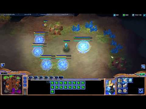 Starcraft II - Protoss Tutorial Working up from Bronze League - Part1