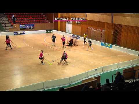 FBO Florpédo Bratislava - Eastern Wings Michalovce 2:8 (30.11.2014)