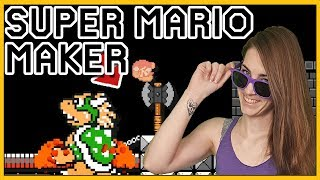 Dunkin' on Bowser! Mario Maker [100 Mario Challenge]