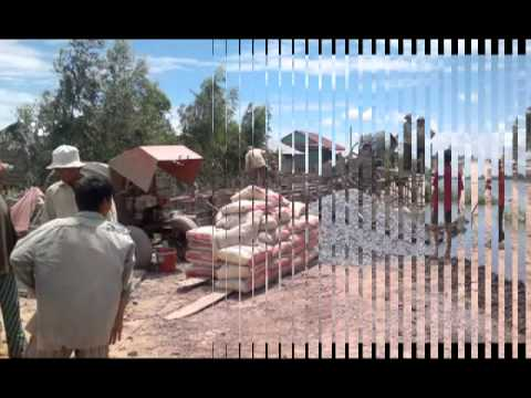 Construction of new historical road toward Bourei Cholsa Distric Office.flv