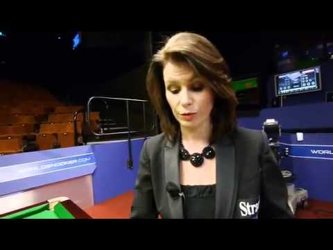 Michaela Tabb _ Professional Snooker Referee _ Behind The Scenes