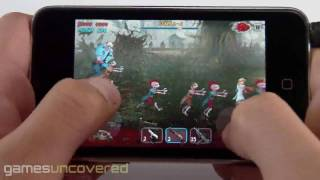 Zombie Shock for iPhone_ Gameplay