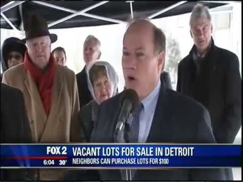 You Can Buy Vacant Lots In Detroit For  $100 Each