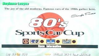 Gran Turismo 3: A-Spec - Part #10 - 80's Sports Car Cup (Beginner)