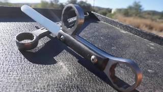 Cách Chế con dao cực kỳ đẹp từ cơ Lê cũ