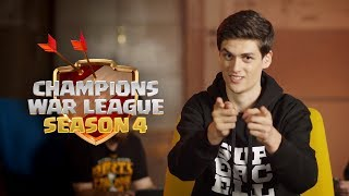 Clash of Clans - Join the Champions War League and play against the best!