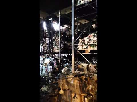 Как выглядит торговый зал Глобуса после пожара