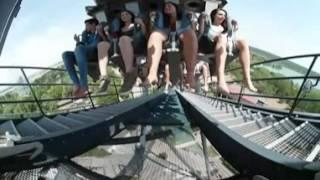 POV INEDITO KATUN video immersivo 360 4k dell'inverted coaster tra i top al mondo - Mirabilandia