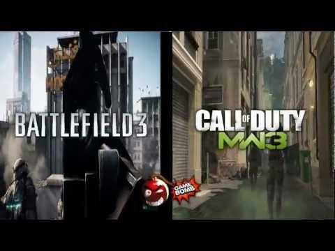 Modern Warfare 3 VS Battlefield 3 - Кто круче? Видеопревью (HD)