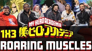 My Hero Academia - 1x3 Roaring Muscles - Group Reaction