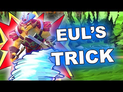 Dota 2 Tricks: Eul's Scepter Stunning Abuse + BONUS!