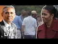 The Obama's Return From Vacation | TMZ Live